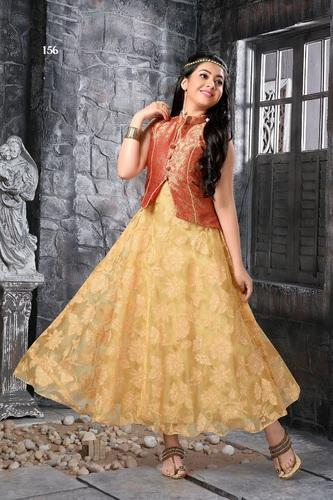 Kids Indo Western Gown At Rs 1215 Piece Kids Indo Western Wear