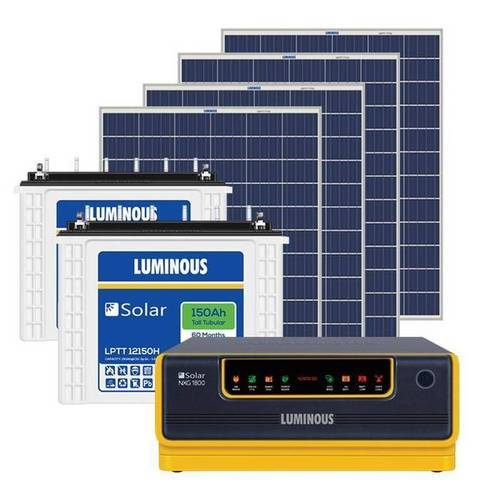 Luminous Digital Display Solar Inverter Battery Voltage