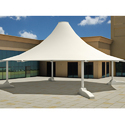 White Tensile Structure
