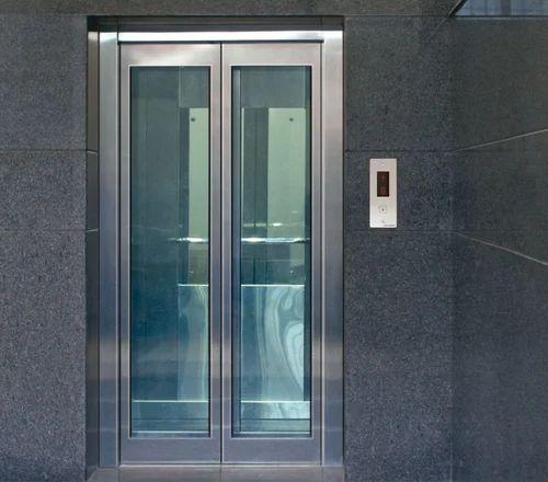 Electric Ms Auto Elevator Glass Door Weight 408 544 Kg Id