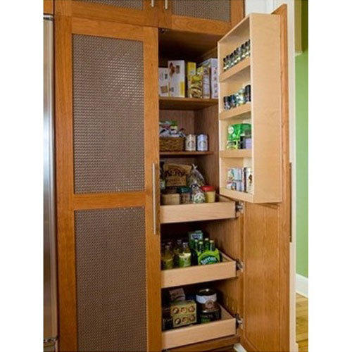 Storage Kitchen Cabinet Solid Wood, Kitchen Cupboard Interior Storage