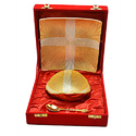Silver and Gold Plated Stylish Bowl Set