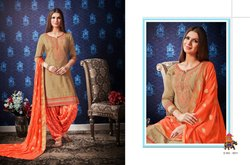 Kessi Fabric Shangar By Patiala House Vol-8  Series 3911-3922 Stylish Party Wear Jam Silk Suit