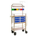 Stainless Steel Crash Cart Trolley