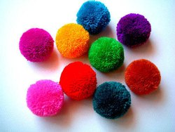 Colourful Pom Pom Ball