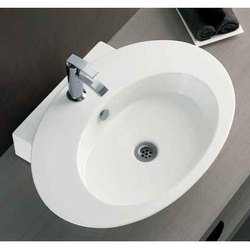 SGS-WHT-0514 Ceramic Basin