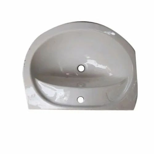 White Ceramic Wall Hung Wash Basins for Bathroom Fittings