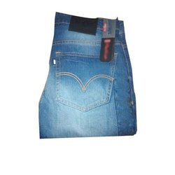 Casual Wear Faded Mens Fancy Slim Fit Denim Jeans, Waist Size: 28-34