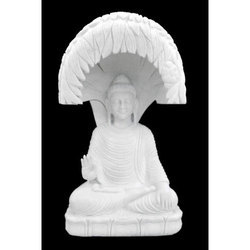 Buddha Under Bodhi Vriksh Statue