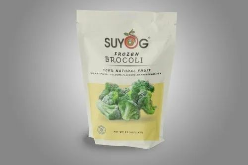 SUYOG A Grade Frozen Broccoli, Net Bag, Iqf