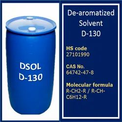 Dearomatized Solvent D130