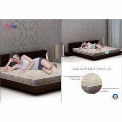 霜星蒙大拿弹簧床垫,材料:PU泡沫