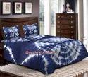 Tie Dye Print Double Bed Sheet