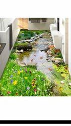 Bathroom Natural 3D Floor Tiles