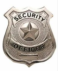Security Metal Badges