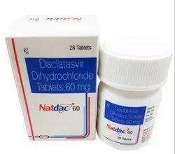 Natdac Daclatasvir Dihydrochloride Tablets 60 Mg