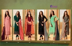 Salwar Suit With Heavy Dupatta