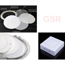 Round/Square Surface Mount 9w Kit Slim LED Panel Downlight