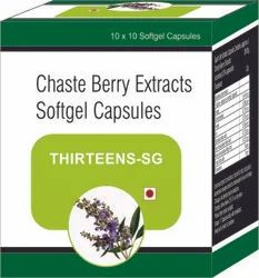 Chaste Berry Extracts Softgel Capsules