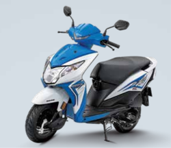Honda Dio Scooter Standard Candy Jazzy Blue