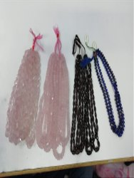 Rose Quartz Smokey Gemstones Beads