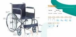 TOMMY- Basic Steel Wheelchair