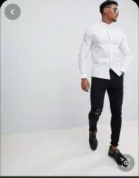Male Plain Cottan Shirt