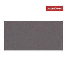 Brown Somany T61204135 11 mm Trento Nero Glossy Floor Tile, Size: 600 x 1200 Mm