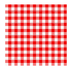 Red Checked  Kitchen Towel