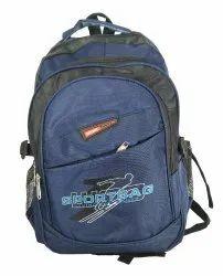 Dark Blue School Bag