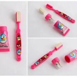 Toothbrush Shape Eraser & Toothpaste Shape Sharpner Set for Kids