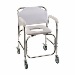 Wheel Commode Chair With Wheels