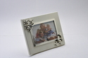 Silver Plated Photo Frame with Butterfly On Border-PF1101