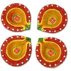 Terracotta Home Decor Dipawali Diyas