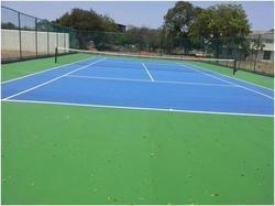 Outdoor Tennis Court Flooring Service
