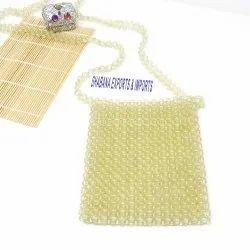 Casual Handmade Beaded Designer Crossbody Bag