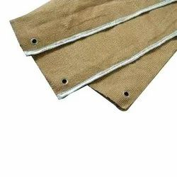Vermiculite Coated Ceramic Fabric and Blankets