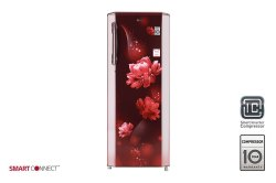 Scarlet Charm LG GL B281BSCX Single Door Refrigerator, Capacity: 270 L