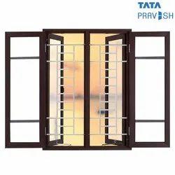 Galvanized Iron Tata Pravesh Oyster Casement Window