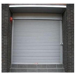 Full Height Iron Remote Controlled Rolling Shutter