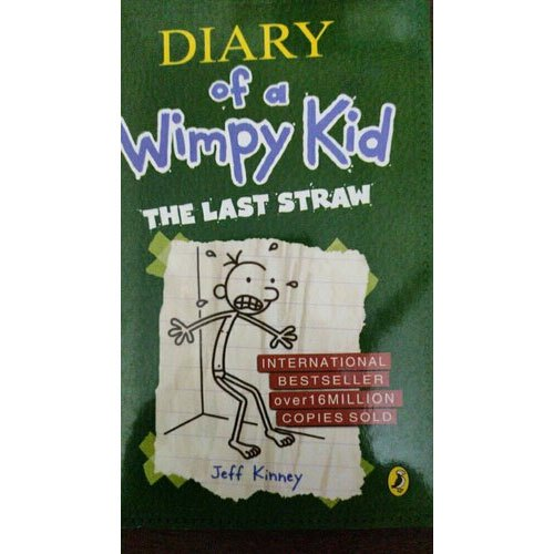 English Kids Book Dairy Of A Wimpy Kid The Last Straw Id 21732879233