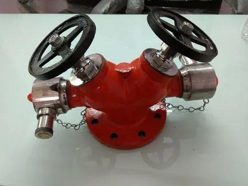 Double Headed Fire Hydrant Valve
