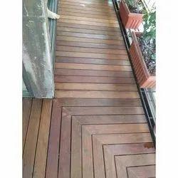 Decorative Wooden Deck Flooring