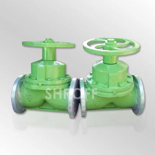 Valves ci ebonite lined diaphragm valves manufacturer from vadodara rubber lined a type diaphragm valve ccuart Choice Image