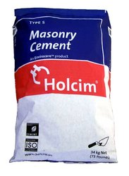 ISI Certifications For Masonry Cement