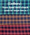 Cadbury Check Shirting Fabric