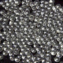 Drop On Glass Beads