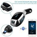 SEC X5 Wireless Bluetooth Car Charger Kit with USB SD Card R