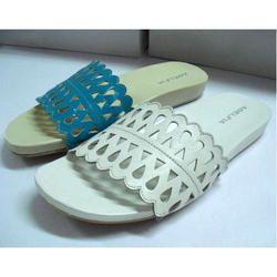 Ladies Leather Slippers