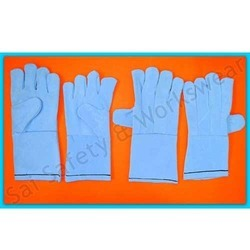 Leather Hand Gloves Welding Gloves